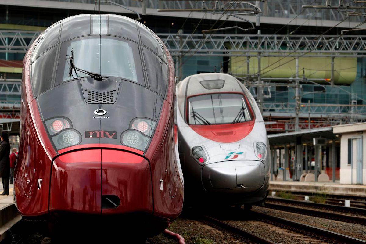 Met hogesnelheidstreinen door Italië: sneller dan vliegen